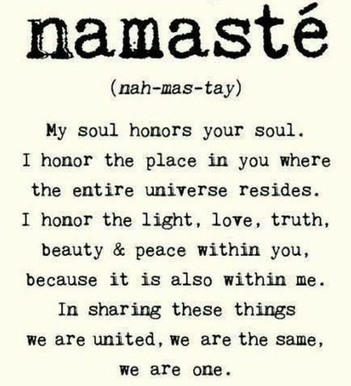 Greeting from Namaste Spa Kelowna