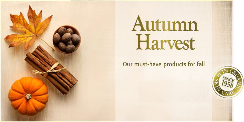 Warm up for Autumn, Fall Skin Care Products