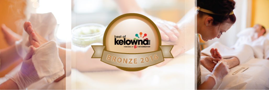 Namaste Day Spa Bronze Winner Best of Kelowna 2016