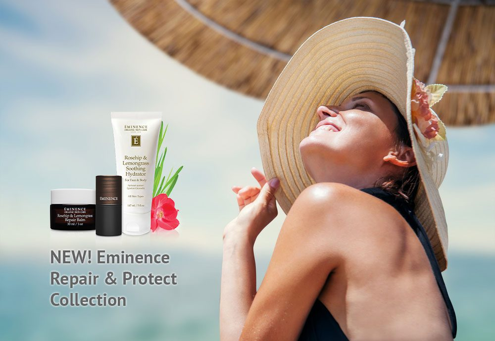 New Eminence products for summer at Namaste Day Spa Kelowna